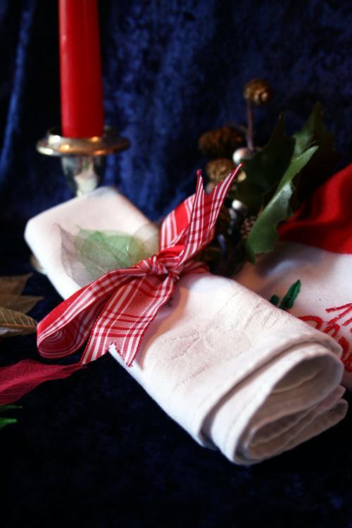 Christmas Skeleton Leaves Selection
